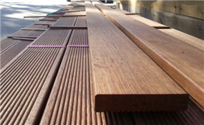 DECKING MERBAU KD SELECT R1F RANDOM LENGTHS 90 x 19mm
