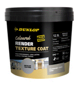 DUNLOP (RENDER) TEXTURE COAT 12.5LTR