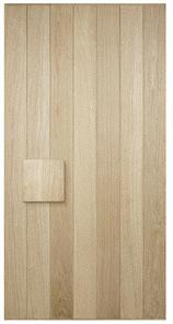 CORINTHIAN DOOR ELEMENTS ELEM A2 VERTICAL SYMMETRICAL AMERICAN WHITE OAK