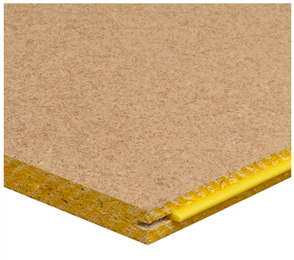 PARTICLEBOARD FLOORING (STRUCTAFLOR) YELLOW T&G
