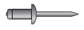 POP RIVETS (4-8) 3.2mm DIAMETER / 9.5-12.7mm GRIP RANGE ALUMINIUM PK1000