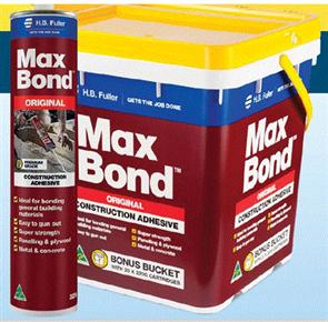 MAXBOND BUCKET OF 20 x 320g CARTRIDGES