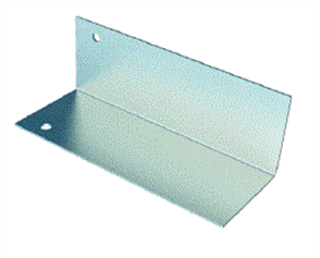 SPANTEC PITCHED EXTERNAL HIP COVER PLATE POWDERCOATED (AT FASCIA BEAM)
