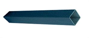 EZIPIER (SPANTEC) SQUARE HOLLOW SECTION (SHS) POWDERCOATED 89 x 89 x 3.5mm