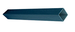 EZIPIER (SPANTEC) SQUARE HOLLOW SECTION (SHS) POWDERCOATED 75 x 75 x 2.0mm