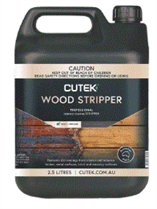 CUTEK WOOD STRIPPER (CD33 NAKED) 2.5lt