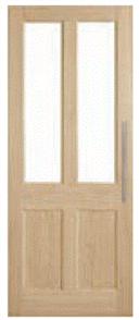CORINTHIAN DOOR BLONDE OAK AWO 7GL AMERICAN WHITE OAK GLAZED KOOKABURRA / JEWEL 2040 x 820 x 40mm