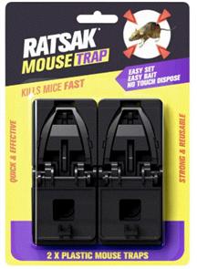 MOUSE TRAP (RATSAK) TWIN PACK