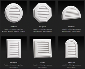 GABLE VENT (FUNCTIONAL)
