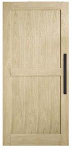 CORINTHIAN DOOR AWOBD3 MODA BARN AMERICAN WHITE OAK
