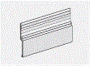 HARDIE FINE TEXTURE CLADDING / EASYTEX / EASYLAP ALUM BASE TRIM 9 x 3000mm