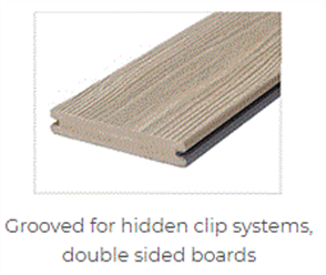 APEX DECKING GROOVED 190 x 24 x 5700mm