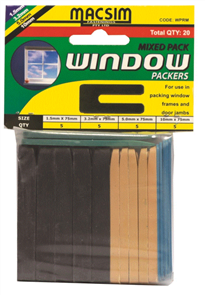 WINDOW PACKERS (MACSIM) 75mm TRADE