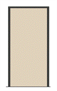 HUME STANDARD ENTRANCE FRAME, MERANTI ASSEMBLED, HARDWOOD SILL, 4 x HINGES, 140 x 31 x 2110 x 1067mm for DOOR 2040 x 1020 x 40mm