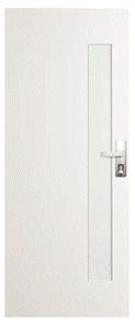 CORINTHIAN DOOR BUSHFIRE BAL40 PBUSHG101 PRIMED SKIN GLAZED CLEAR 2040 x 820 x 42mm