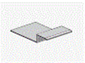 HARDIE FINE TEXTURE CLADDING ALUM HORIZONTAL H JOINTER CONNECTOR 9 x 100mm