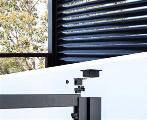 QUIKLOK™ FENCING SCREEN ADAPTOR 30 x 35 x 6500mm