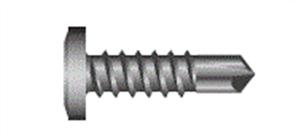 SCREWS METAL DRILLER WAFER ZINC 10G