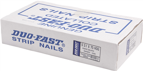 DUO-FAST D30600 HD GALVANISED STRIP NAILS PK3000 - 3.1 x 75mm