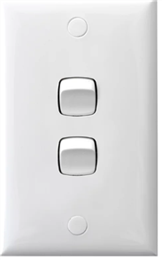 HPM STANDARD SIZE 10A LIGHT SWITCH