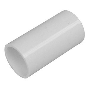 CONDUIT WHITE (NBN) COUPLING 20mm