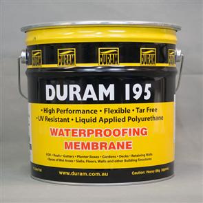 DURAM 195 SELF LEVELLING WATERPROOFING MEMBRANE