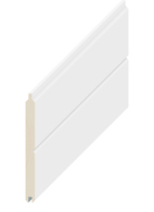 EZITRIM PLUS PRIMED VEE JOINT #302 LINING BOARD 140 x 12 x 5400mm