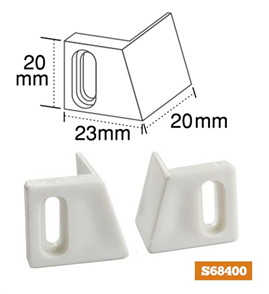GUIDES NYLON CAVITY DOOR PAIR LH/RH