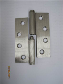 HINGE LIFT OFF SATIN CHROME LEFT HAND 85 x 60 x 1.6mm