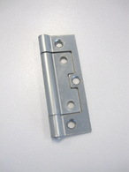 HINGE NON MORTISE FIXED PIN ZINC PLATED 89 X 34 X 1.8mm