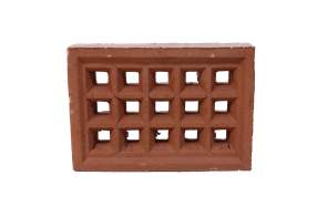 BRICK VENT SQUARE HOLE TERRACOTTA
