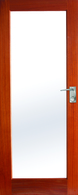 DOOR JST1 4mm CLEAR TOUGHENED 2040 x 820 x 40mm