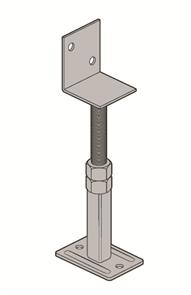 KLEVA KLIP ADJUSTABLE BEARER SUPPORT 120 x 80 x 160-290mm