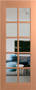 DOOR LIN10 JOINERY GLAZED CLEAR 2040 X 720 X 35mm