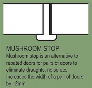 HUME - DOOR EXTRA - MUSHROOM STOP