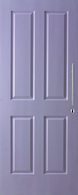 DOOR OAKFIELD MOULDED PANEL WOODGRAIN