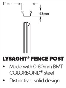 FENCING FENCE POST
