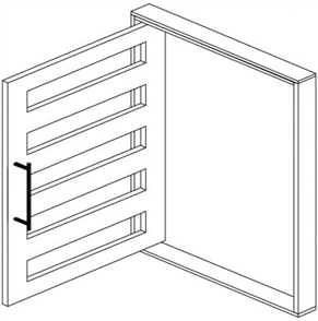 DOOR FRAME PIVOT MERANTI