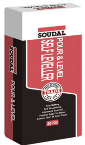 SOUDAL SELF LEVELLING COMPOUND - POUR & LEVEL 20kg