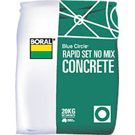 CONCRETE RAPID SET NO MIX 20kg