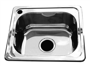 SINK CLASSIC MULTIPURPOSE RECTANGULAR BOWL WITH TAP LANDING
