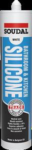 SOUDAL BATHROOM & KITCHEN SILICONE CLEAR (TRANSLUCENT) 300ml