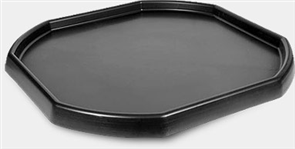"TRAY ""GORILLA"" ALL PURPOSE DURABLE PLASTIC BLACK 940 X 940mm"