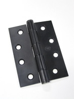 HINGE BUTT 100 X 75 X 2.5 FIXED PIN INC SCREWS H100X75FP-BL PAIR