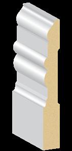 MDF PRIMED WA COLONIAL 190 x 18 x 5400mm