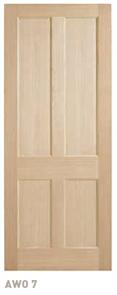 CORINTHIAN DOOR BLONDE OAK AWO 7 AMERICAN WHITE OAK