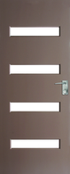 DOOR NEWINGTON XN5 CLEAR DURACOTE 2040 x 820 x 40mm