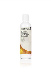 AKTIVO GLASS + CERAMIC COOKTOP CLEANER 250ml