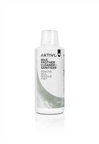 AKTIVO MILK FROTHER CLEANER + SANITISER 425ml