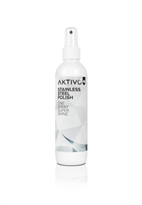 AKTIVO STAINLESS STEEL POLISH 250ml